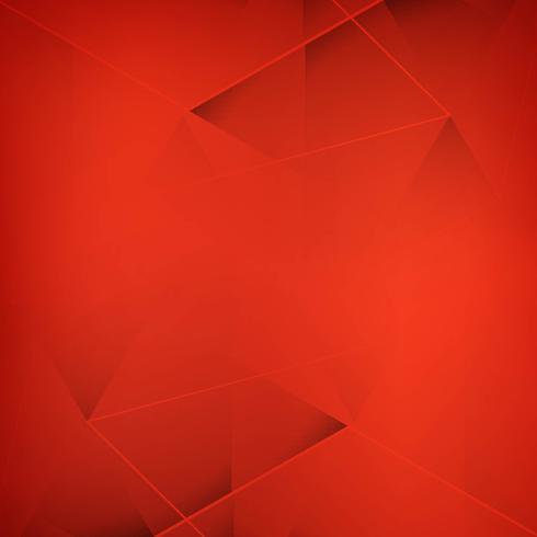 Abstrakter redl Polygonhintergrundvektor