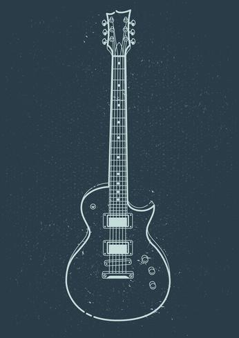 Elektrische gitaar Vector
