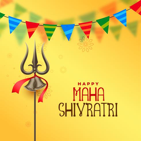 hinduisk festival maha shivratri hälsning bakgrund
