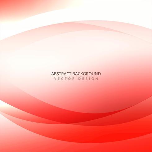 Abstrakt färgrik kreativ våg på vit bakgrund