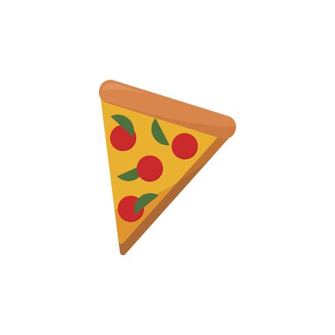 Illustration of a pizza