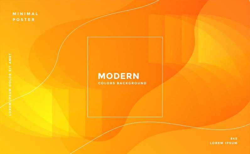 fantastisk gul abstrakt modern bakgrund