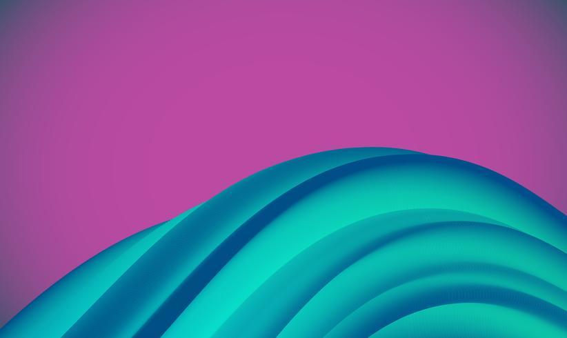 Bunter abstrakter Formhintergrund für die Werbung, Vektorillustration