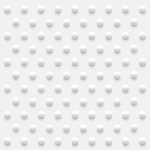 Fond abstrait sphères réalistes, illustration vectorielle