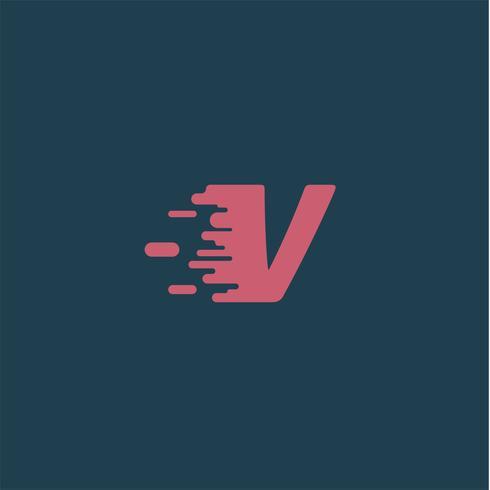 Caractère 'Rush' d'un typographe, illustration vectorielle