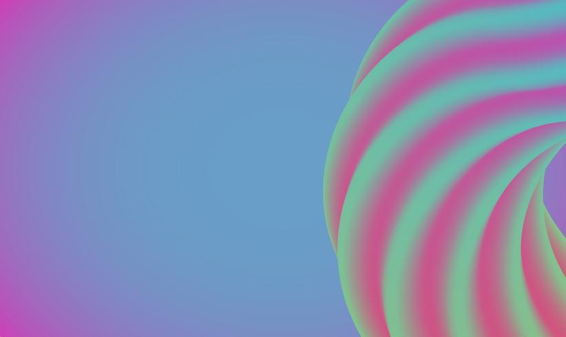 Fundo colorido abstrato para publicidade, ilustração vetorial