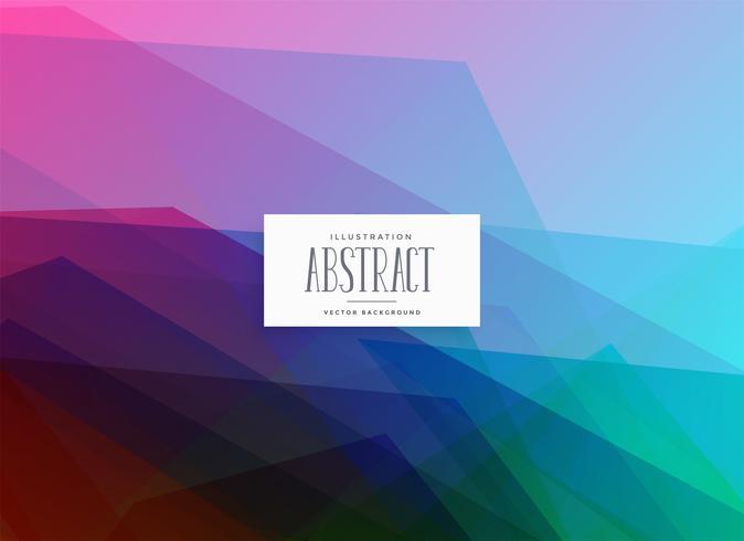 Fondo de colores abstractos geométricos vibrantes