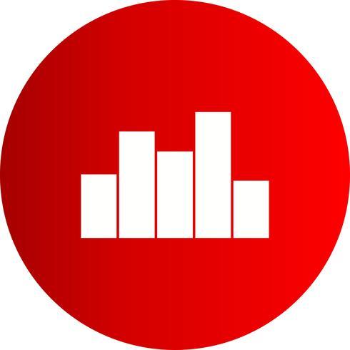 icono de gráfico vectorial