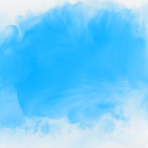 efeito de tinta azul aquarela textura de fundo