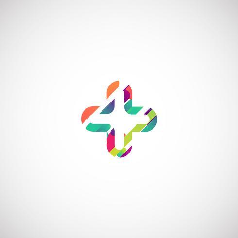 Colorido personaje de una tipografía, ilustración vectorial vector
