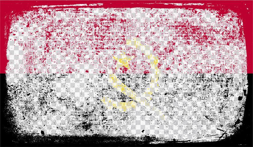Bandeira de estilo Grounge, ilustração vetorial