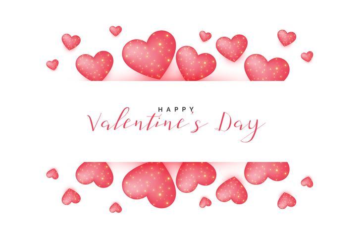 bella giornata di San Valentino saluto sfondo