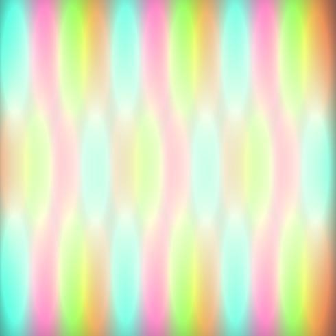Luzes coloridas bokeh brilham, ilustração vetorial