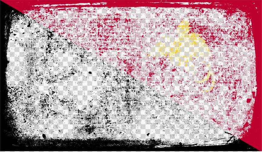 Bandera estilo Grounge, ilustración vectorial vector