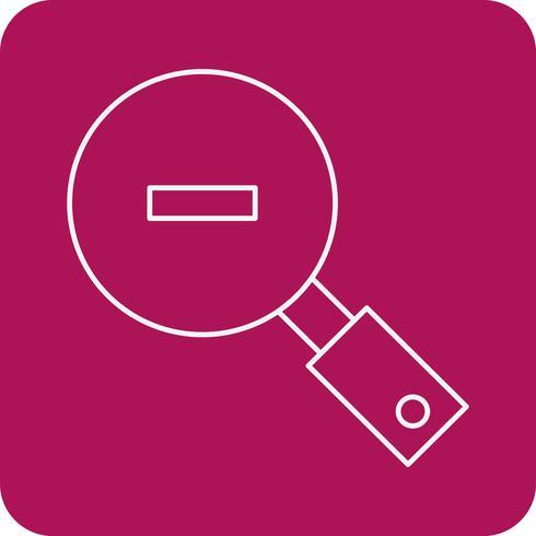 icona di ricerca vettoriale