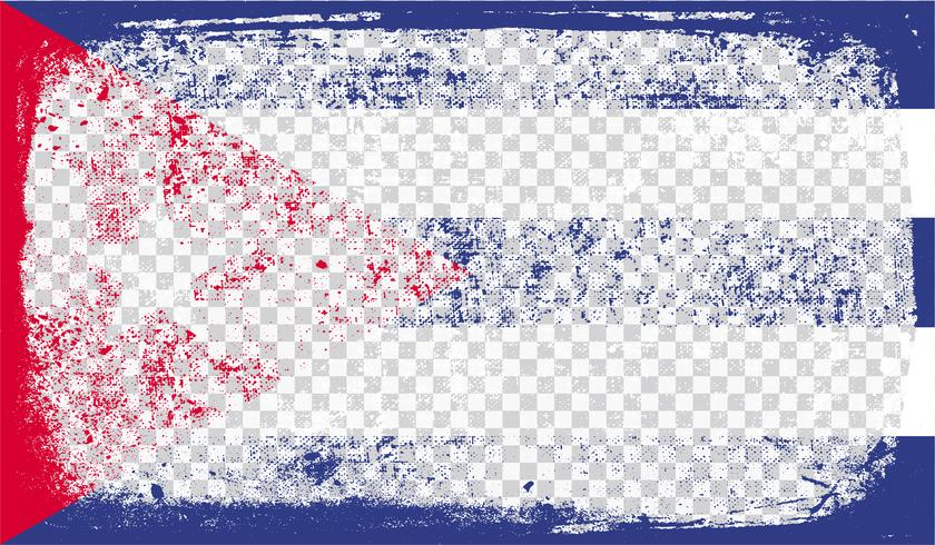 Drapeau de style Grounge, illustration vectorielle vecteur
