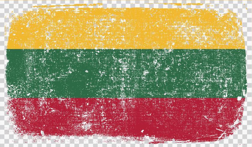 Bandeira de estilo Grounge, ilustração vetorial vetor