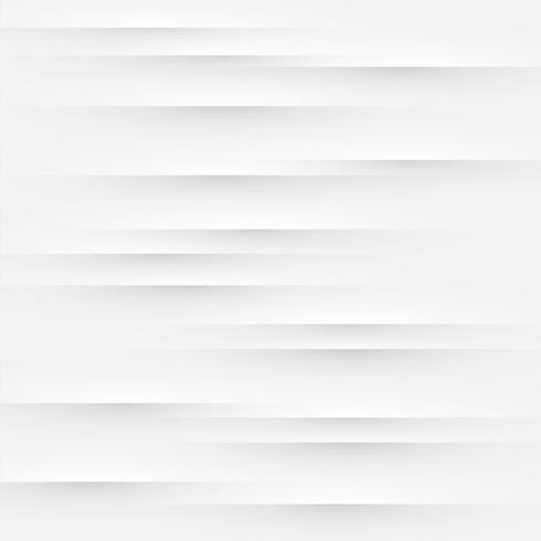 Abstrato branco com dobras e sombras, ilustração vetorial