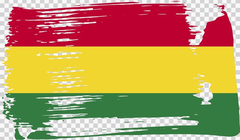 Realistische vlag, vectorillustratie