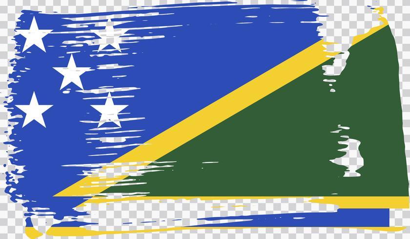 Realistic flag, vector illustration