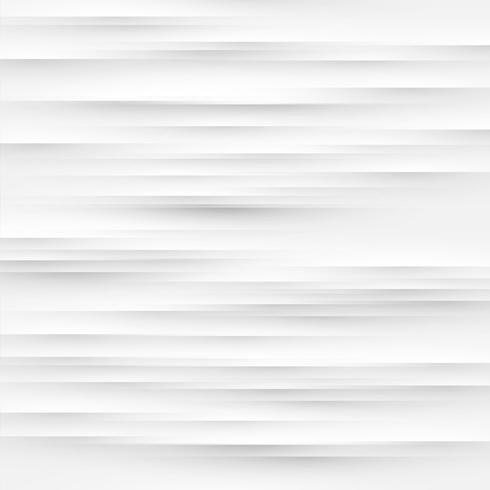 Fondo blanco abstracto con pliegues y sombras, ilustración vectorial