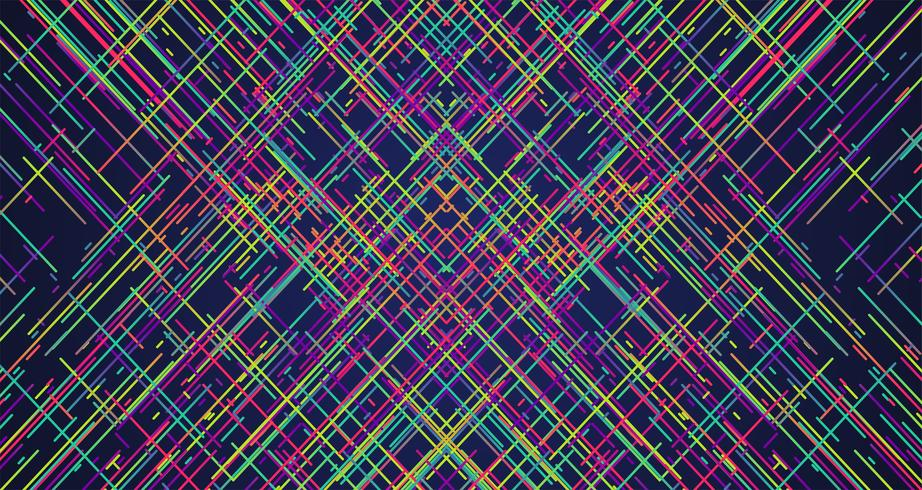 Fond de rayures colorées, illustration vectorielle