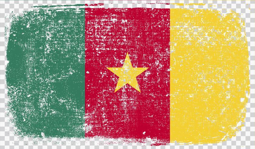 Grunge-gestileerde vlag, vectorillustratie