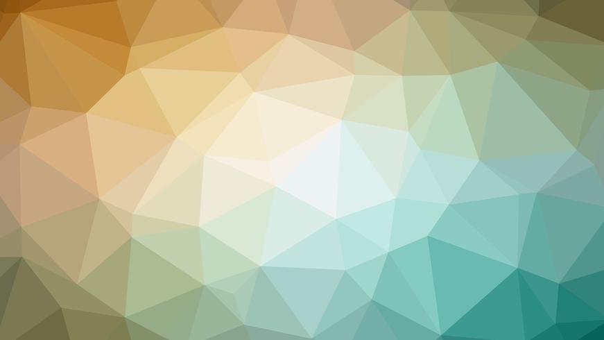 Colorful polygonal connection design with, low poly vector illustration