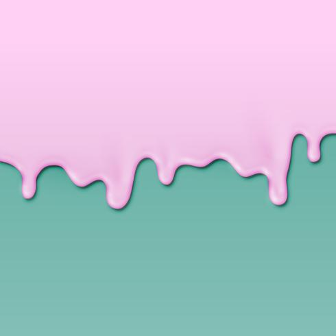 Realistische verf op verschillende gekleurde achtergrond, vectorillustratie vector