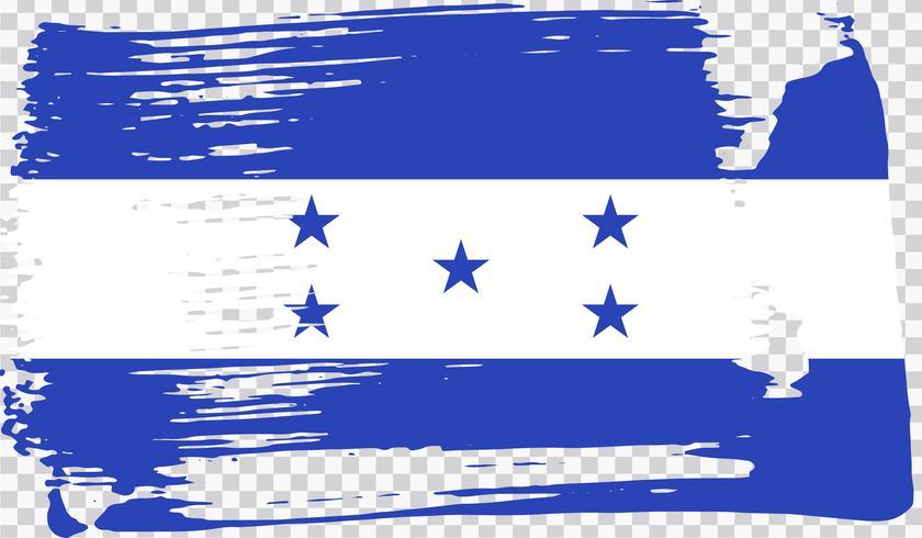 Realistische Flagge, Vektor-Illustration