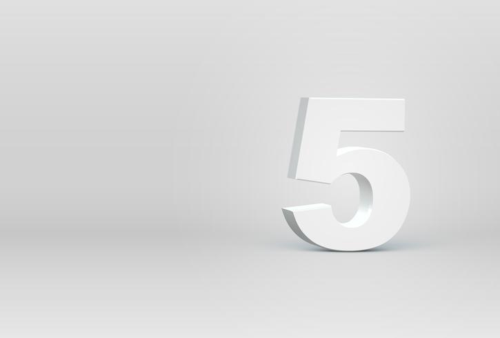 Hoch ausführlicher Charakter des Gusses 3D, Vektorillustration vektor