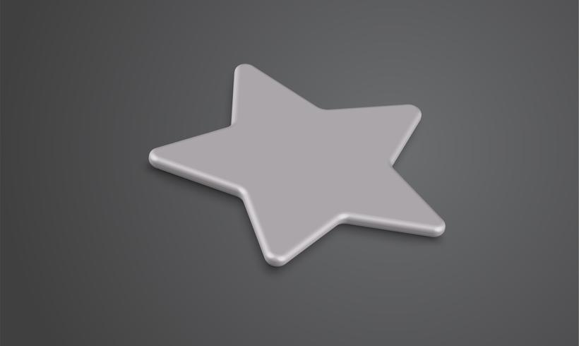 3D sterclassificatie of achtergrond, vectorillustartion