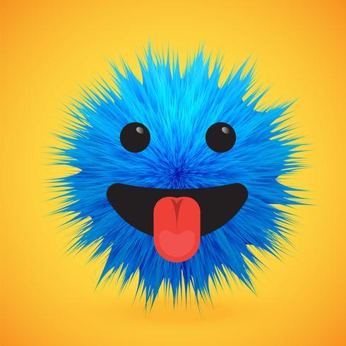 Emoticon smiley de piel de alto nivel 3D, ilustración vectorial vector