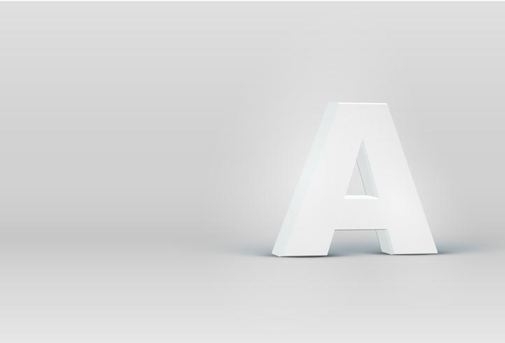 Hoch ausführlicher Charakter des Gusses 3D, Vektorillustration