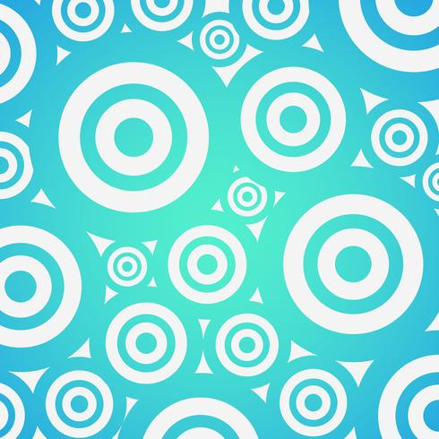 Colorful gradient background with circles, vector illustration