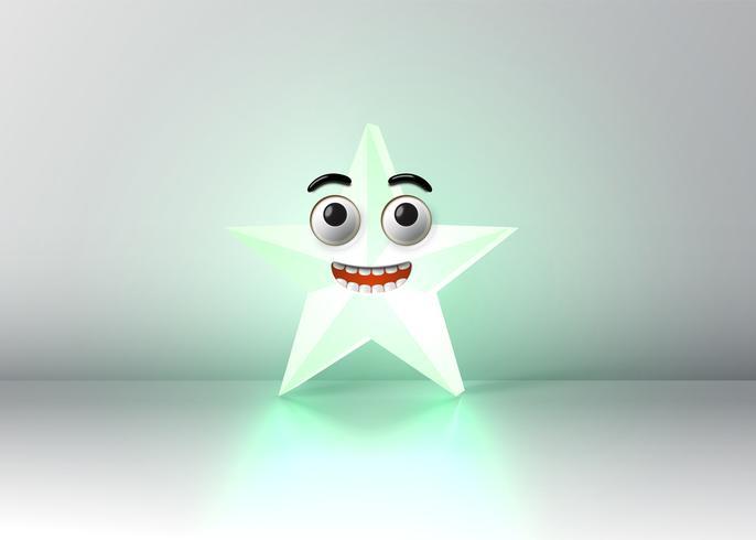 Haute smiley détaillée, illustration vectorielle vecteur