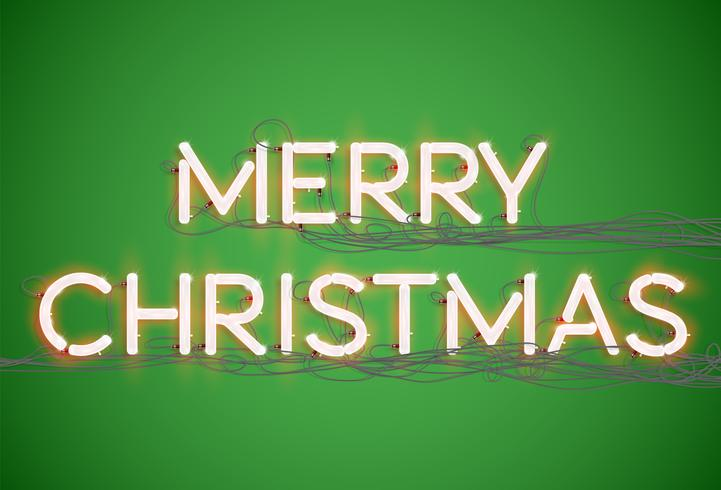 Colección de fuentes 'Merry Christmas', vector