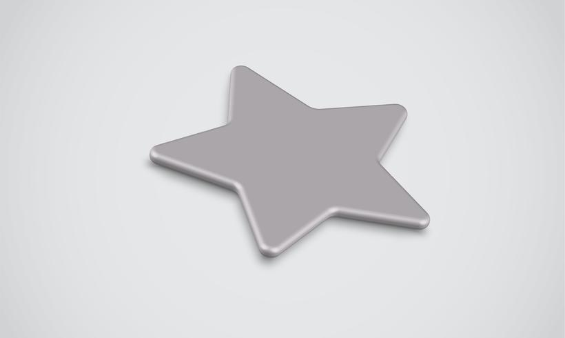 Classificação de estrelas em 3D ou plano de fundo, vetor illustartion