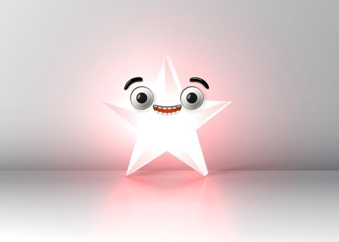 Haute smiley détaillée, illustration vectorielle