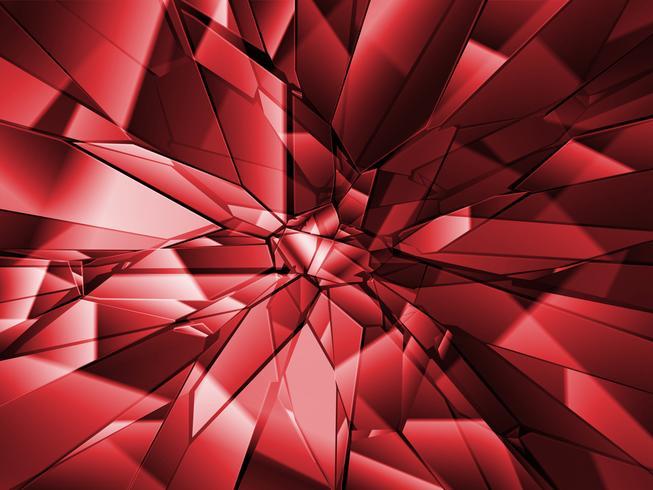 Broken glass background, vector