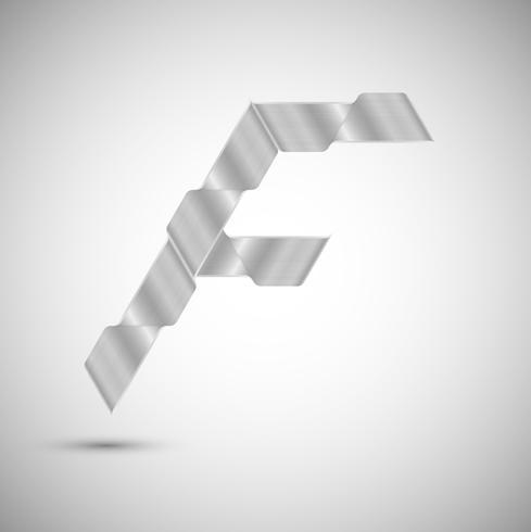 Zeichen aus Stahl, Vektor