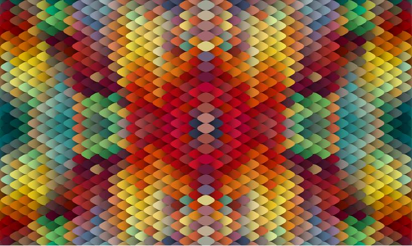 Abstrait coloré, illustration vectorielle