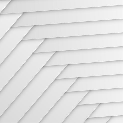 Abstrakt vit bakgrund med veck och skuggor, vektor illustration