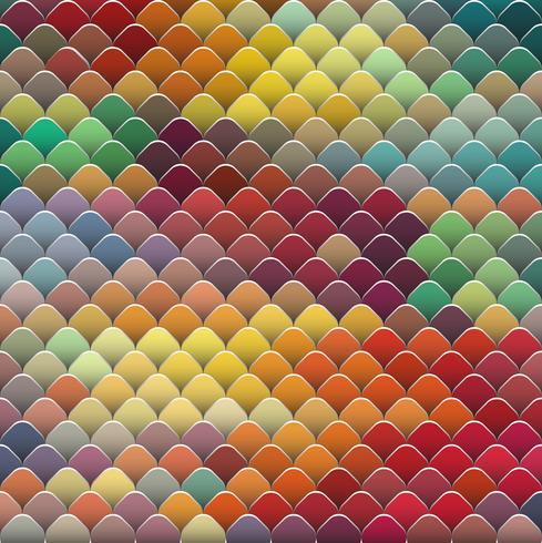 Abstrait coloré, illustration vectorielle
