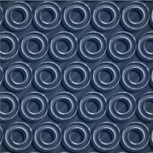 Fondo blu variopinto dell'estratto del cerchio, illustrazione di vettore