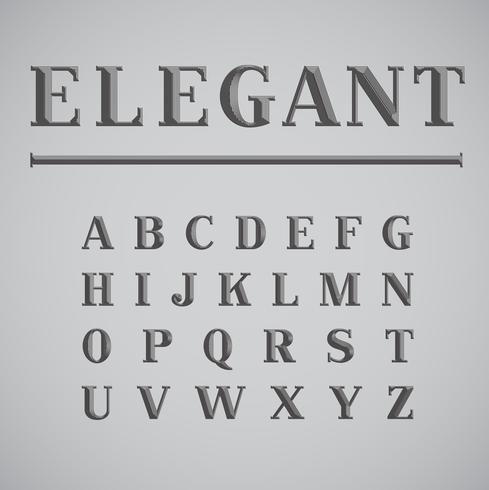 Elegant ink saver character - less ink while printing, vector