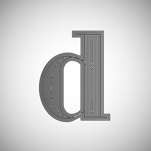 Carácter de ahorro de tinta: menos tinta al imprimir, vector