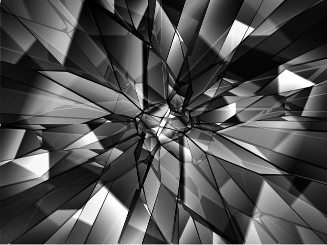 Unterbrochener Glashintergrund, Vektor
