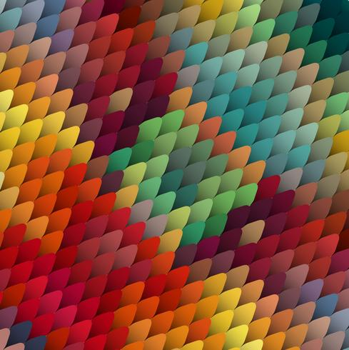Fondo abstracto colorido, ilustración vectorial