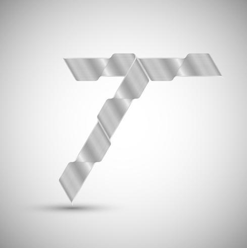 Karaktär av stål, vektor